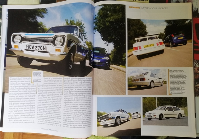 3 REVISTAS  FORD RS,  FOCUS RS,  SIERRA RS - foto 3