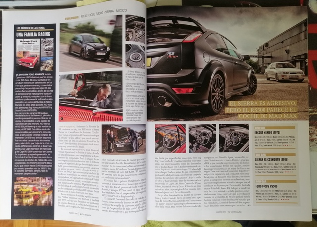 3 REVISTAS  FORD RS,  FOCUS RS,  SIERRA RS - foto 5