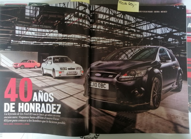 3 REVISTAS  FORD RS,  FOCUS RS,  SIERRA RS - foto 6