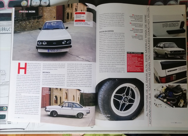 3 REVISTAS  FORD RS,  FOCUS RS,  SIERRA RS - foto 7