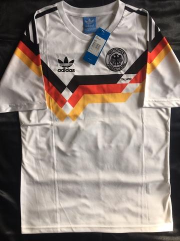 Camiseta Alemania Mundial 1990