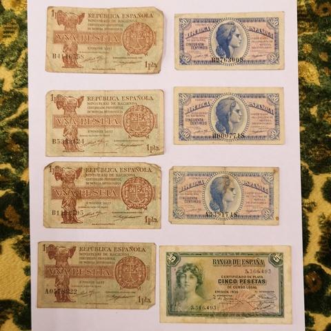 Billetes Antiguos  De La República