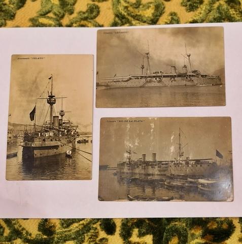 Postales Barco De Guerra