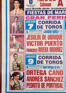 CARTEL DE TOROS DE A CORUÑA 1997.  - foto 3