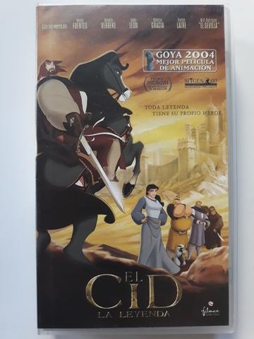 EL CID LA LEYENDA PELíCULA VHS ORIGINAL