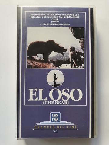 EL OSO DE J.ANNAUD PELíCULA VHS ORIGINAL