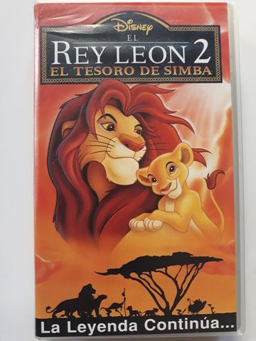 EL REY LEóN 2 EL TESORO DE SIMBA VHS