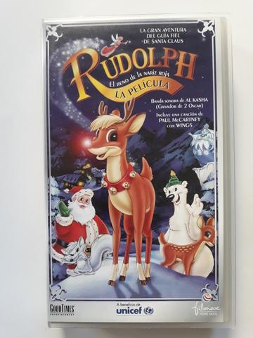 RUDOLPH LA PELICULA VHS ORIGINAL