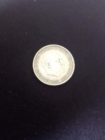 Moneda De 25 Pesetas De 1957*59