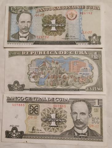 Billete De 1 Peso De Cuba