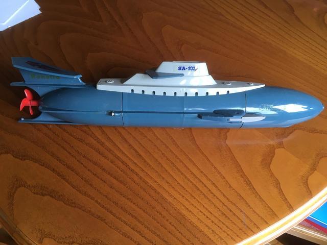 Submarino Y Barco Raneta .