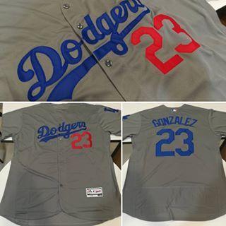 BEISBOLERA MLB DODGERS GONZALEZ GRIS - foto 1