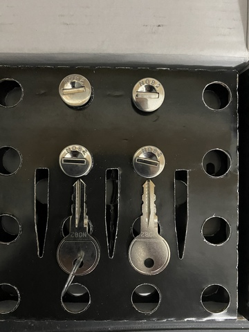 Sistema Thule One Key 12 bombines 1 Llave 2017