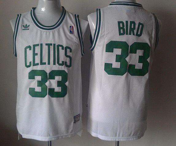 CAMISETA NBA BOSTON 33 BLANCA RETRO - foto 1