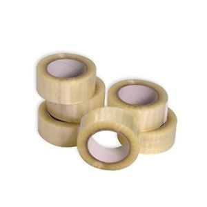 1 x cinta de paquete de impresión de embalaje frágil rollos de 48 Mm x 66 M