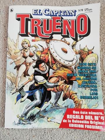 COMIC EL CAPITAN TRUENO DE 1986 - foto 1