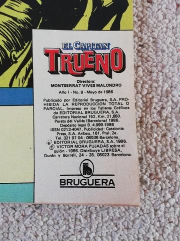 COMIC EL CAPITAN TRUENO DE 1986 - foto 2