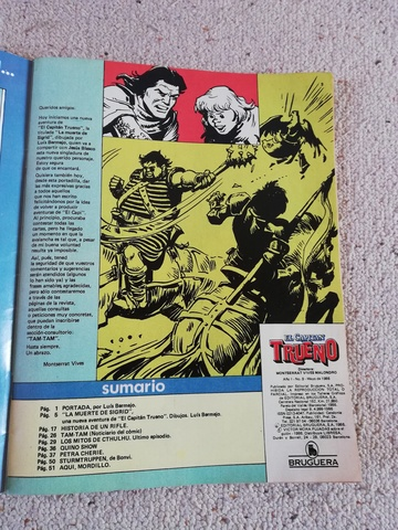 COMIC EL CAPITAN TRUENO DE 1986 - foto 6