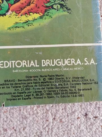 COMIC BERMUDILLO COLECCION BRAVO - foto 3