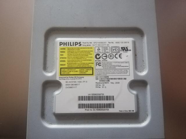 GRABADORA CD/ DVD PHILIPS PARA PC - foto 4