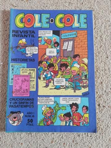 Comic Cole-Cole De 1983