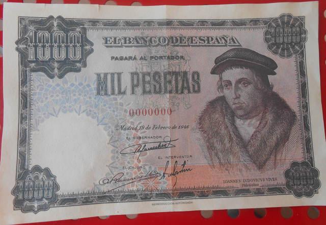 Billete 1000 Pesetas 1946 -Facsímil-