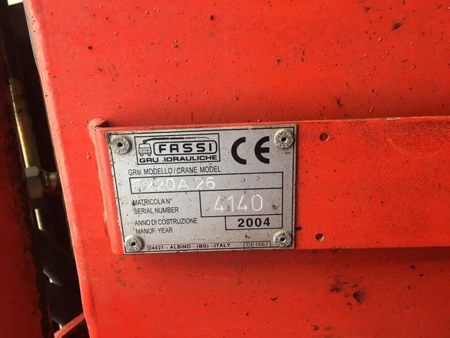 MAN GRUA BASCULANTE - TGA 410 FASSI F 220 A. 26 - foto 6
