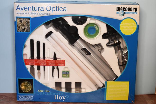 MICROSCOPIO 900X Y TELESCOPIO - foto 1