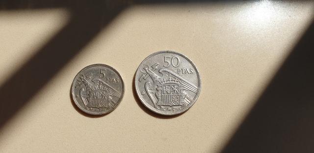 Monedas De Peseta De Franco De 1957