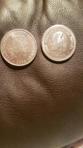 Dos Monedas 2000 Pesetas 1998 Y 1996