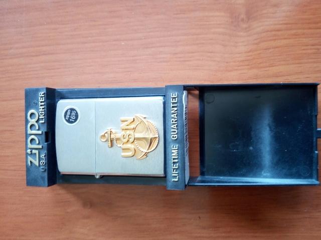 Zippo Usn Lighter Nuevo Del Año 1997 Usa