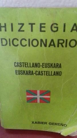 SE VENDE DICCIONARIO EUSKERA CASTELLANO - foto 1