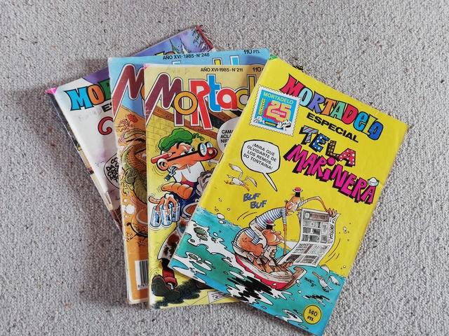 Comics Mortadelo 1983