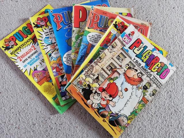 Comics De Pulgarcito De 1981