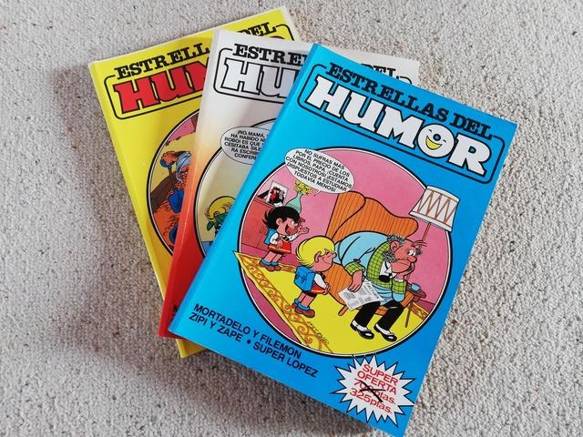 COMICS ESTRELLAS DEL HUMOR DE LOS 80 - foto 1