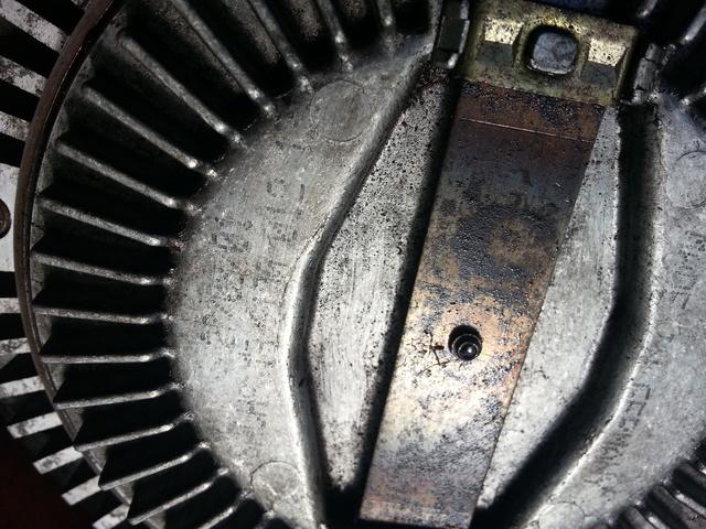 BMW serie 3 7 X5 E39 E46 E53 sistema de refrigeración de motor de gasolina Ventilador de acoplamiento viscoso