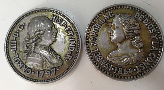 Medallas Conmemorativas Carlos Iii