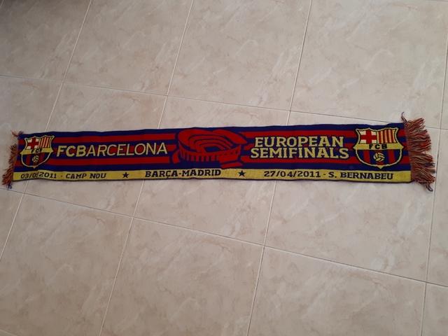 Bufanda Fútbol Barça