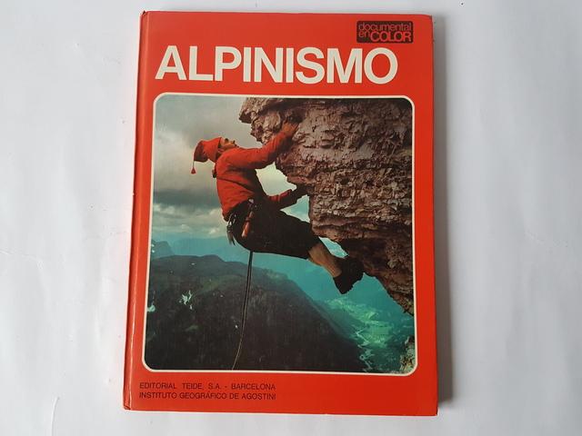 ANTIGUO LIBRO ALPINISMO,  - foto 1