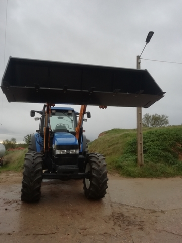 TRACTOR NEW HOLLAND TM125 - foto 2