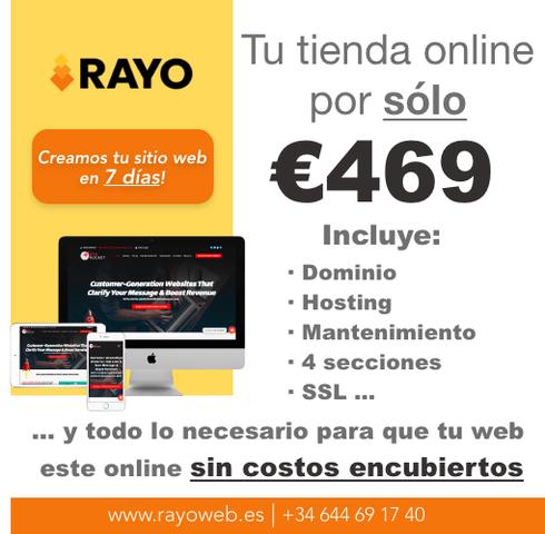 DISEÑO PAGINAS WEB -TIENDA ONLINE - foto 4