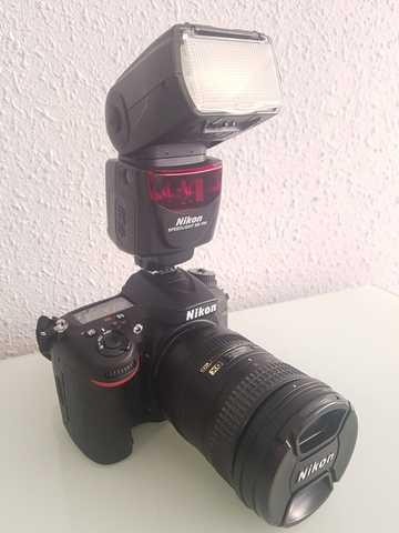 NIKON D7100+OBJETIVO 18-200 MM + FLASH - foto 6