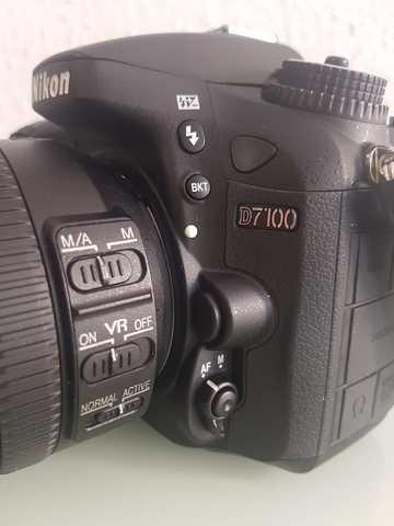 NIKON D7100+OBJETIVO 18-200 MM + FLASH - foto 9