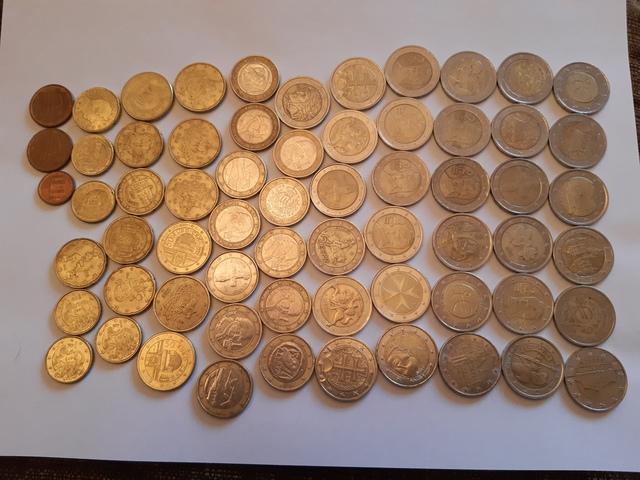 Coleccion De Monedas Raras