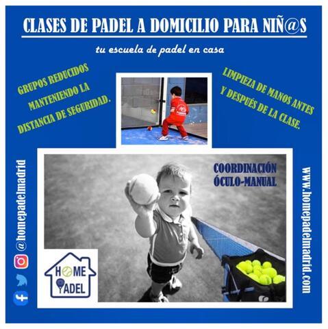 HOMEPADELMADRID CLASES DE PADEL - foto 2