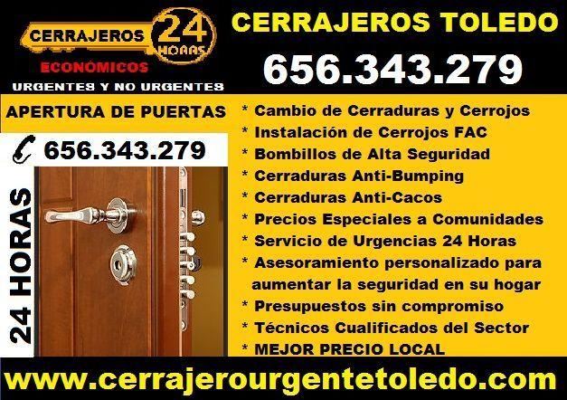 CERRAJERO TOLEDO (SERVICIO 24H) - foto 1