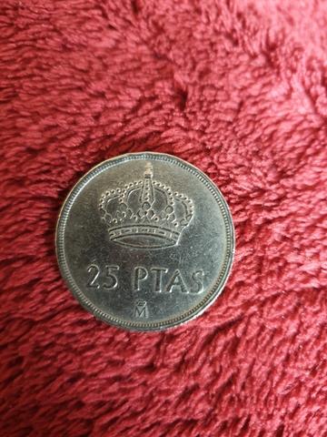 Moneda 25 Ptas 1982