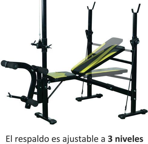 Banco De Pesas Ejercicios De Musculación