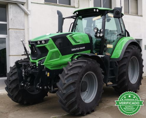 Deutz Fahr 6 tractores de la serie folleto de ventas