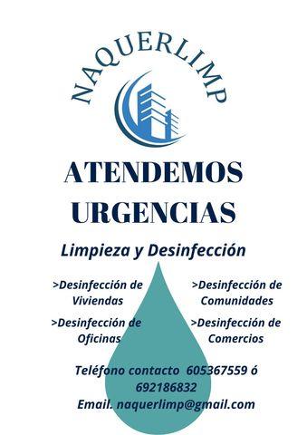 LIMPIEZA Y DESINFECCIÓN - foto 1